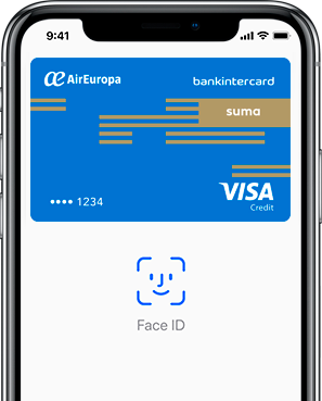 Apple Pay Air Europa