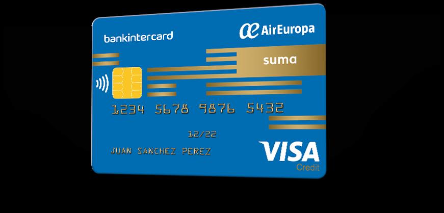 Tarjeta De Crédito Visa Air Europa Suma Tus Compras Te Hacen